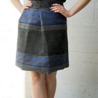 83277 gonna skirt rock yubka jupe